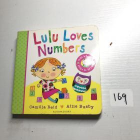 我爱露露系列:露露爱数字英语启蒙认知纸板书/LuluLovesNumbers