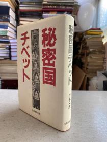 秘密国 チベツト(日文版)32开精装