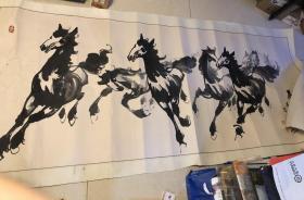 """陈日新,著名的有国画家陈日新,擅长中国画,曾在胶东八路军、《大众报》社从事美术工作。还有""""奔马画家""""陈日新,受过徐悲鸿大师的指点,现为中国美协会员、北京青云书画院院长99X240"""