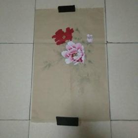 无款画稿4平尺,,仿古纸画(010)