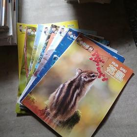 小聪仔科普 ---西蓝花、竹节虫、鳄鱼、孔雀、榴莲、石头、鲨鱼、花鼠【8册合售】