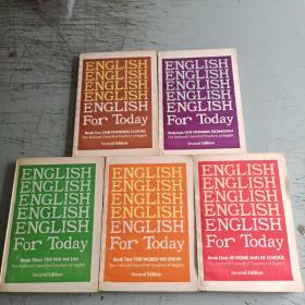 今日英语1-5册