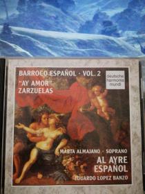 巴洛克时期西班牙音乐精选【原版进口CD】