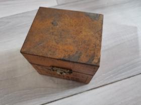 上海钟表零件厂,金铃牌,25支冲子木盒装,货号907-5