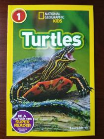 National Geographic Readers: Turtles 【正版全新】