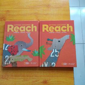 NATIONAL GEOGRAPHIC Reach   Language·Literacy·Content   2本合售  大16开 精装【内页干净】