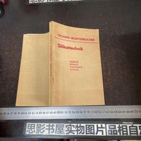 硅酸盐技术词典 (英 德 法 俄四种文字对照)