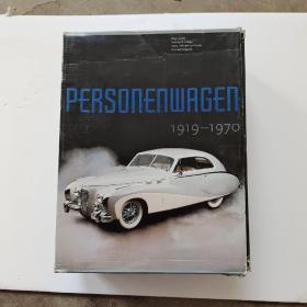 PERSONENWAGEN DER 60ER JAHRE  1919-1970【3本一套】少见图书
