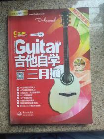 刘传风华系列从书:吉他自学三月通精彩完美版 无光盘
