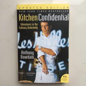 英文原版   KitchenConfidentialUpdatedEdition厨房的秘密