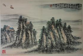 周凤梧,中医泰斗,1985年山水