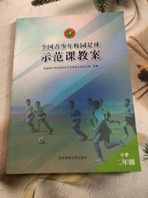 全国青少年校园足球示范课教案:小学二年级