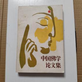 中国佛学论文集