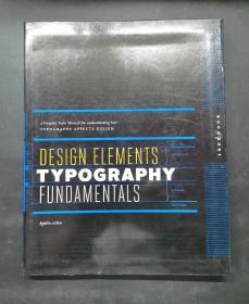 (进口英文原版)Design Elements, Typography Fundamentals: A Graphic Style Manual for Understanding How Typography Affects Design