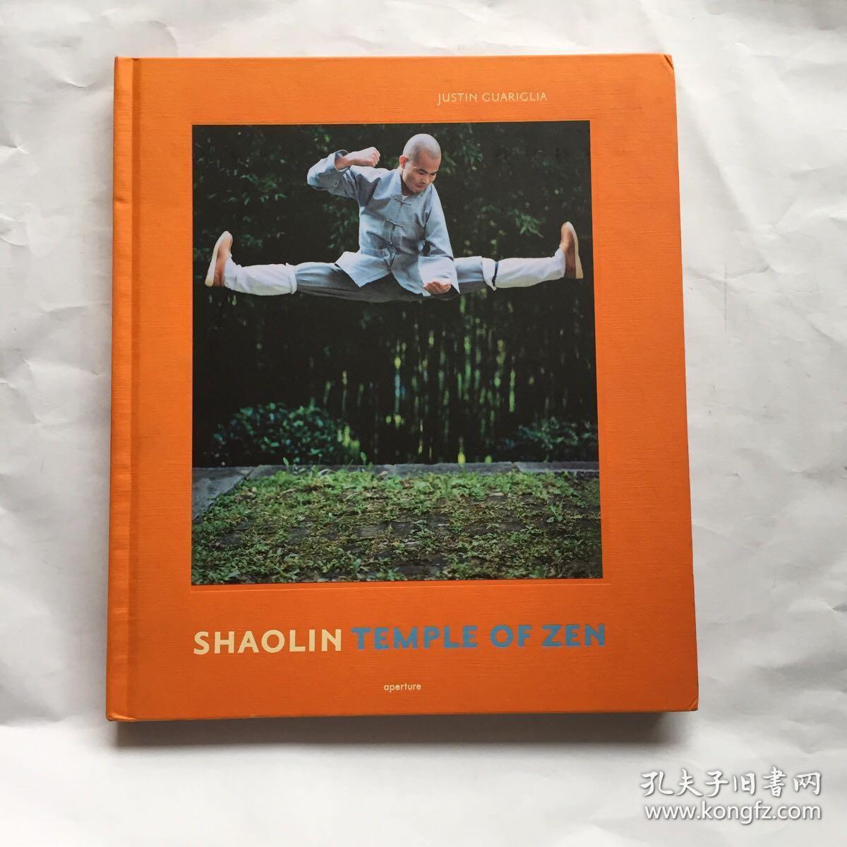 Shaolin:Temple of Zen  原版摄影画册  少林   精装