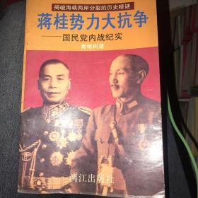 蒋桂势力大抗争:国民党内战纪实 上