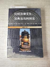 比较法律文化:法典法与判例法