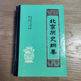 北京历史纲要(全一册)精装