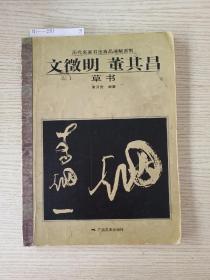 历代名家书法真品通解系列:文征明·董其昌(草书)