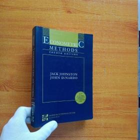 ECONOMETRIC METHODS   FOURTH EDITION  小16开  英文原版【含盘  书内有少量字迹】