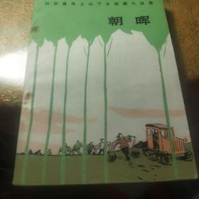《朝晖》知识青年上山下乡短篇小说集