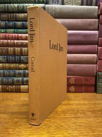 Lord Jim   布面精装原版   大开本,尺寸约为:22*28cm