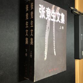 张竞生文集(上下册) 品佳