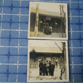 1957年西安卧龙寺老照片两张
