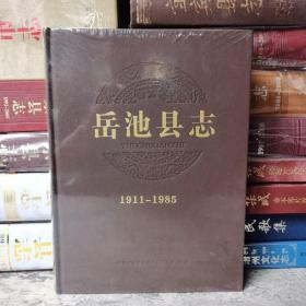 安岳县志1911-1985