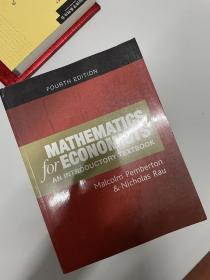 Mathematics for Economists: An Introductory Textbook(现货,非代购)