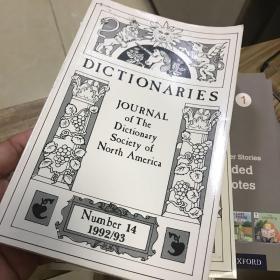 DICTIONARIES  外国原版字典研究(大概意思)1992/93、1999、2000、2002 合售4册