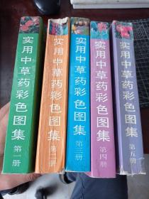 实用中草药彩色图集 1-5册