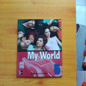 My World  STUDENT BOOK  5  大16开【含光盘一张  内页干净】