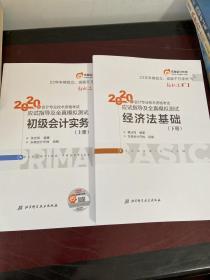 东奥初级会计2020 轻松过关1 2020年应试指导及全真模拟测试经济法基础 (上下册)轻一