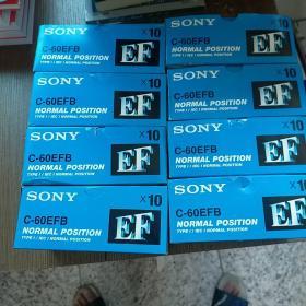 SONY EF-60 索尼 空白 磁带【80盘合售】未开封  实物拍图 现货