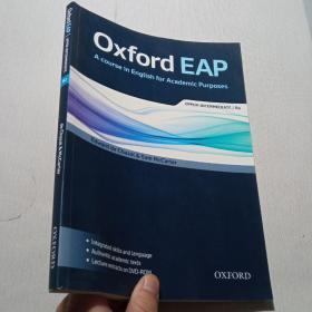 英文原版Oxford EAP: Upper-Intermediate/B2: Student's Book an·带 光盘