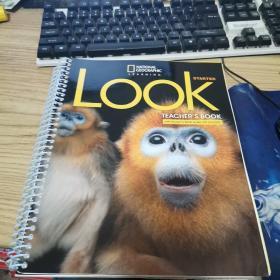 【外文原版】Look starter Teacher's Book(带两张光盘和一本小册子)