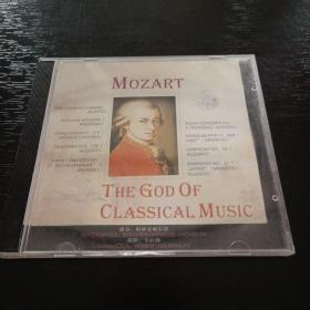 光盘 MOZART THE GOD OF CLASSICAL MUSIC