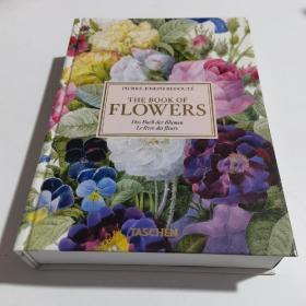 现货Redoute Book of Flowers 雷杜德花之书 植物绘画 英文原版