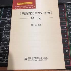 《陕西省安全生产条例》释义