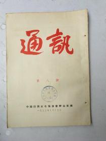 通讯1955年第八期