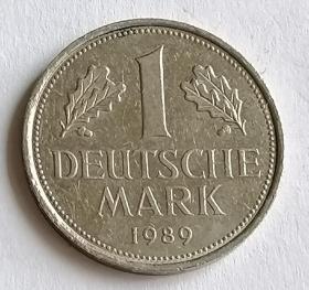 西德1马克硬币保真