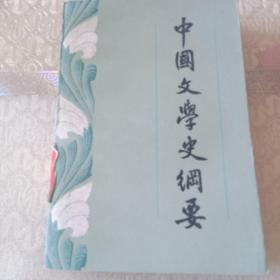 中国文学史纲要  下册
