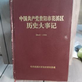 中国共产党贵阳市花溪区历史大事件。1949-1991