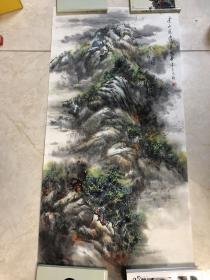 画家 佘德林  山水画一副22