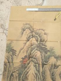 旧书画三顾茅庐图