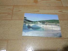 """白鳍豚明信片(8枚一套、中科院水生生物研究所出品〈白鳍豚""""淇淇""""生活照、4种白鳍豚商标广告)"""