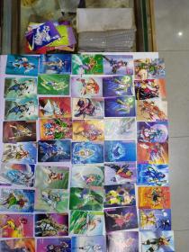 水浒传 闪卡,76张合售(品相好)