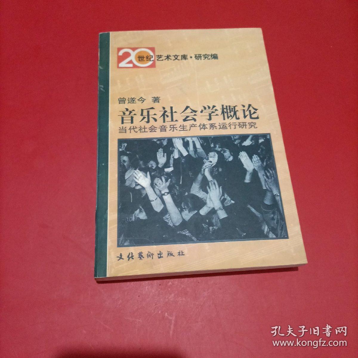 音乐社会学概论:当代社会音乐生产体系运行研究 20世纪艺术文库·研究篇