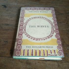 1955年老版英文原版 伍尔芙 海浪 THE  WAVES